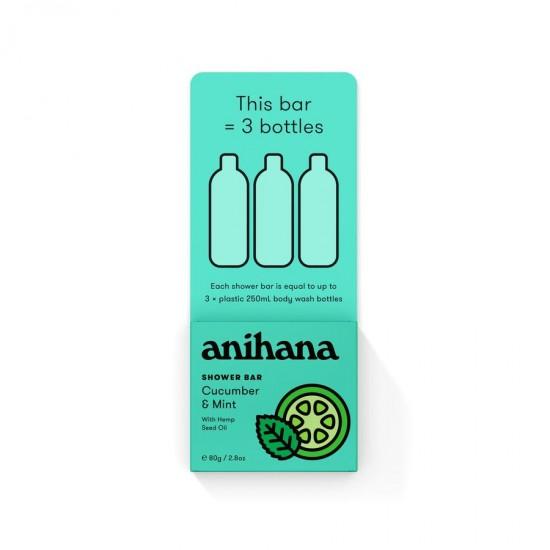 Anihana Soap Free Solid Shower Bars