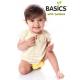 Bambooty BASICS OSFM Snap In Nappy with Bamboo Insert