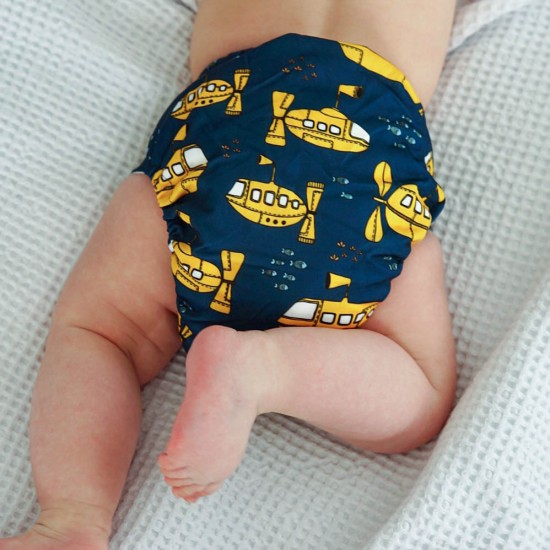 Bear & Moo OSFM Pocket Nappy