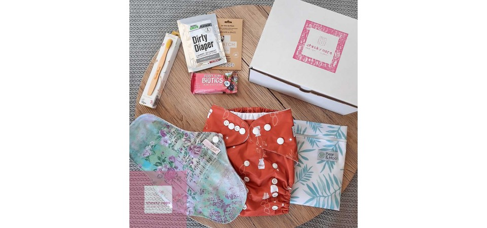 Cheeky Naps NZ Cloth Nappy Subscription Box