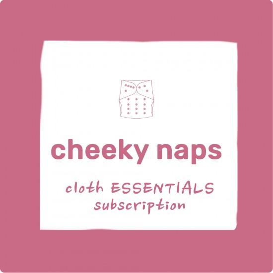 Cheeky Naps - Cloth ESSENTIALS Subscription