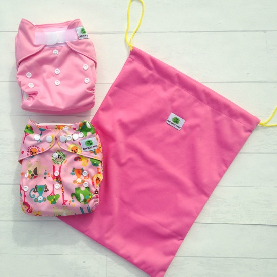 Cherub Tree Trial Pack Velcro & Snaps with FREE Wet bag