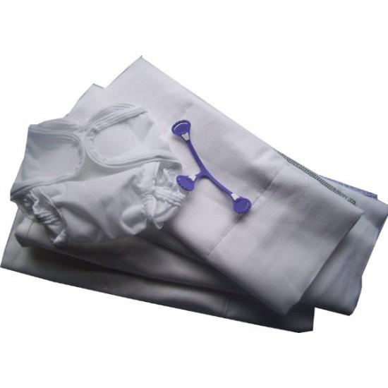 Ecobots Starter Pack - Cotton Prefold Nappy System