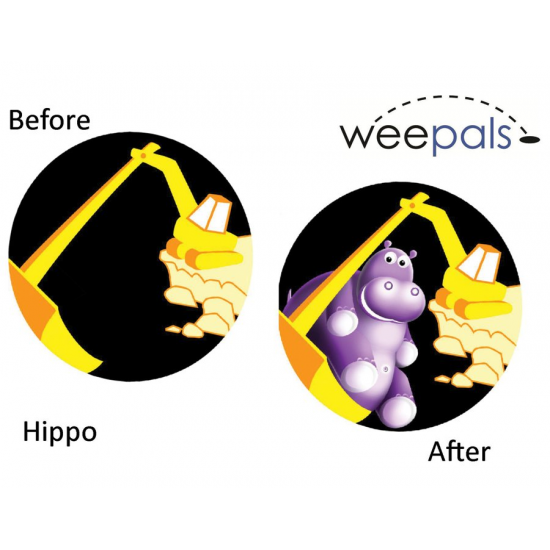 WeePals Toilet Training Aim Stickers