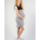Mrs Smith Maternity Sleeveless Breastfeeding Striped Dress