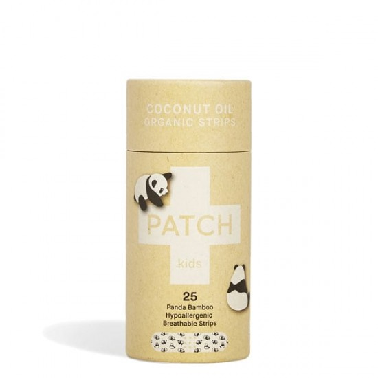 PATCH Coconut Oil Bamboo Bandages - 25 pack