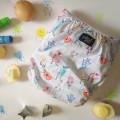 Pēpi Collection Designer Print OSFM Pocket Cloth Nappy