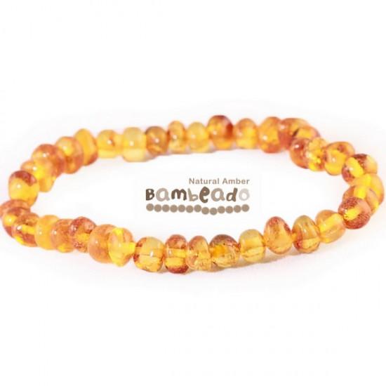 Bambeado Baltic Amber Adult Bracelet