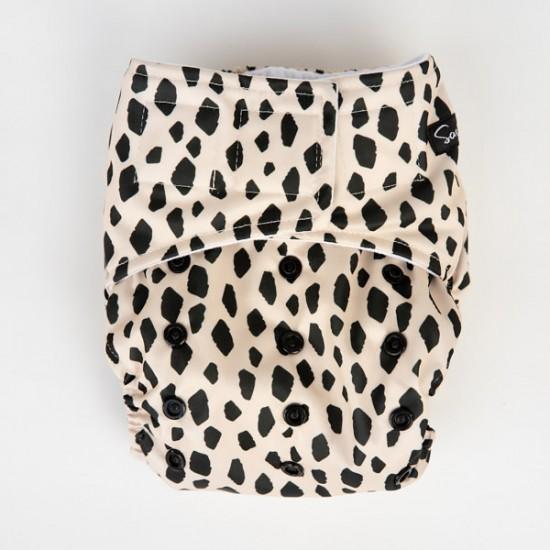 Sassy Pants OSFM Velcro Pocket Nappy with 2 x Bamboo Inserts