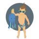 Tuti Reusable OSFM Swim Nappy