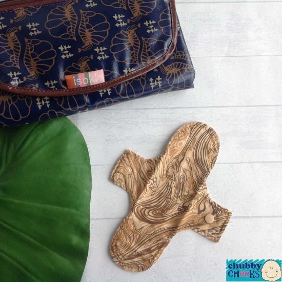"Woohoo NANA Reusable Cloth Liners - 8"" Extra Light (Day Liner)"